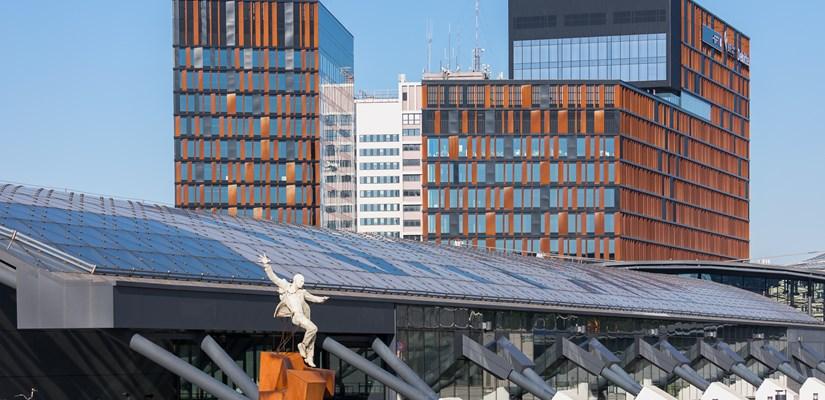 Zrównoważone budownictwo pomaga ograniczać ślad węglowy - Pierwszym budynkiem, w którym wykorzystamy narzędzie BMSCare, jest łódzka Brama Miasta. (Fot. R. Tomczyk)