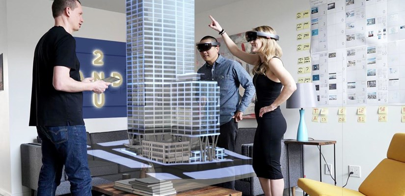 HoloLens, Skanska Commercial Development USA
