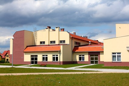 Special Purpose School and Education Center for Blind Children in Wroclaw