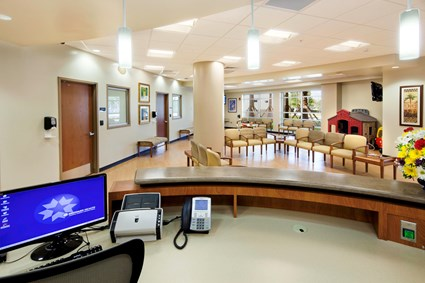 Coral Springs Medical Center Emergency Department Expansion Lobby
