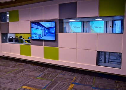 Dorothy Lumley Melrose Center for Technology, Innovation and Creativity Simulation Lab