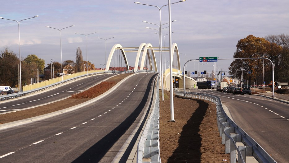 Northern Ring Road of Central Wroclaw