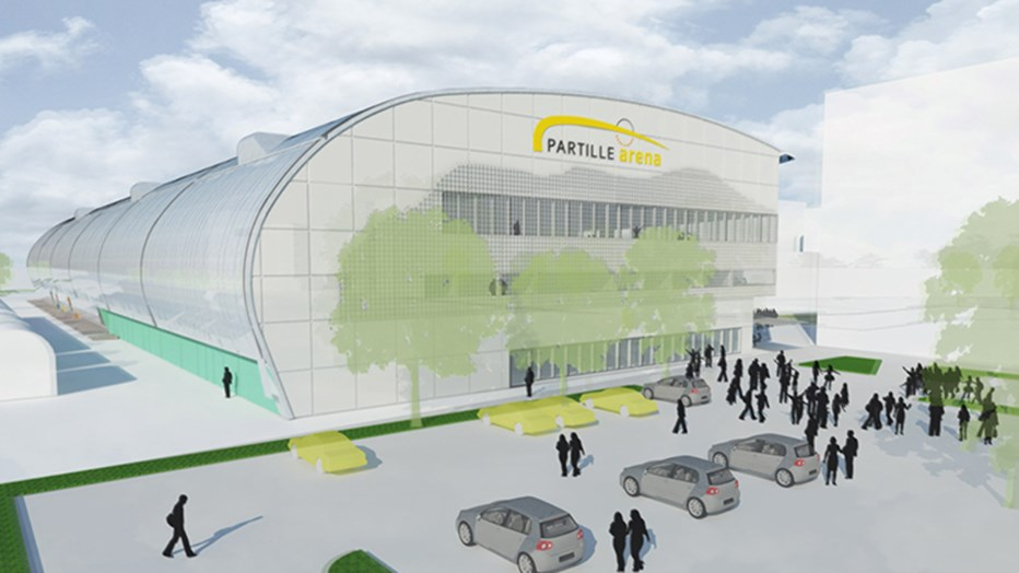 Partille Arena is a rendezvous point for the entire Partille community.