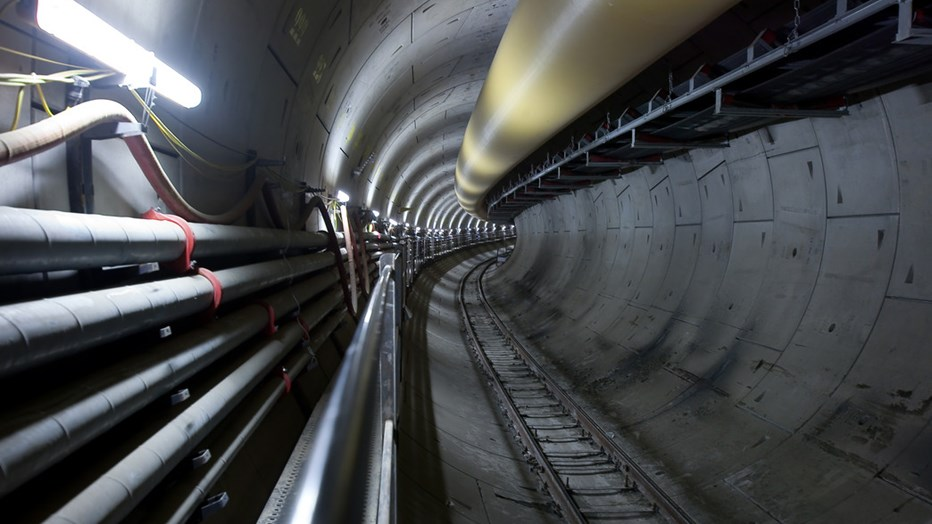 This will be the longest gas pipeline in a tunnel, inserted in a single string, in the world.